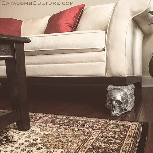 Human Skull Couch Feet