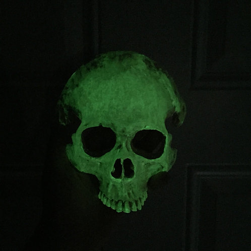 Glow in The Dark Skull Mask