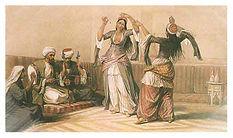 היסטוריה של ריקודי בטן