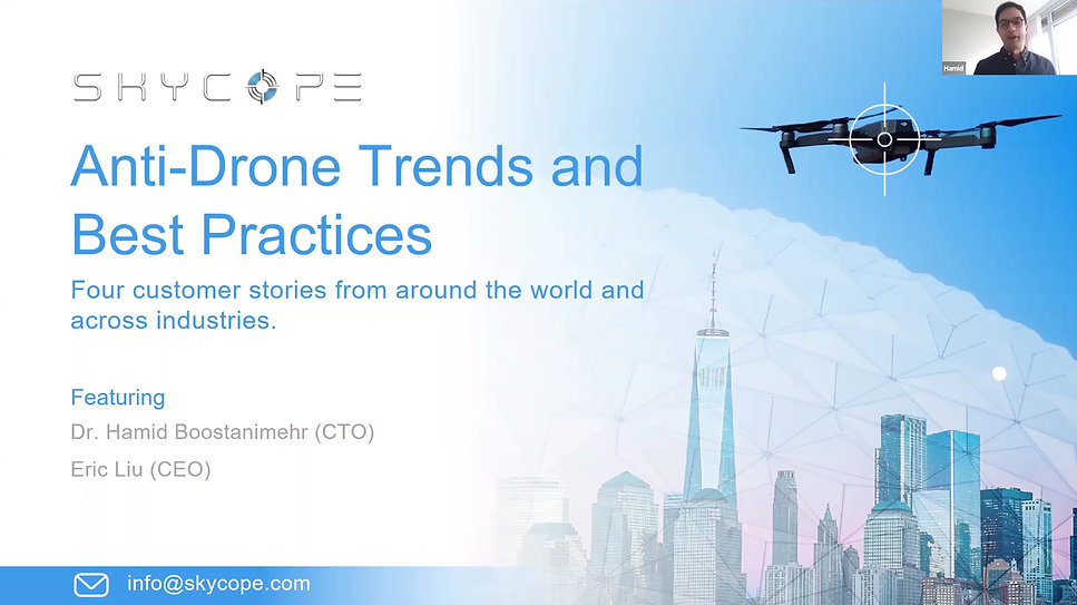 Skycope Anti-drone Solution