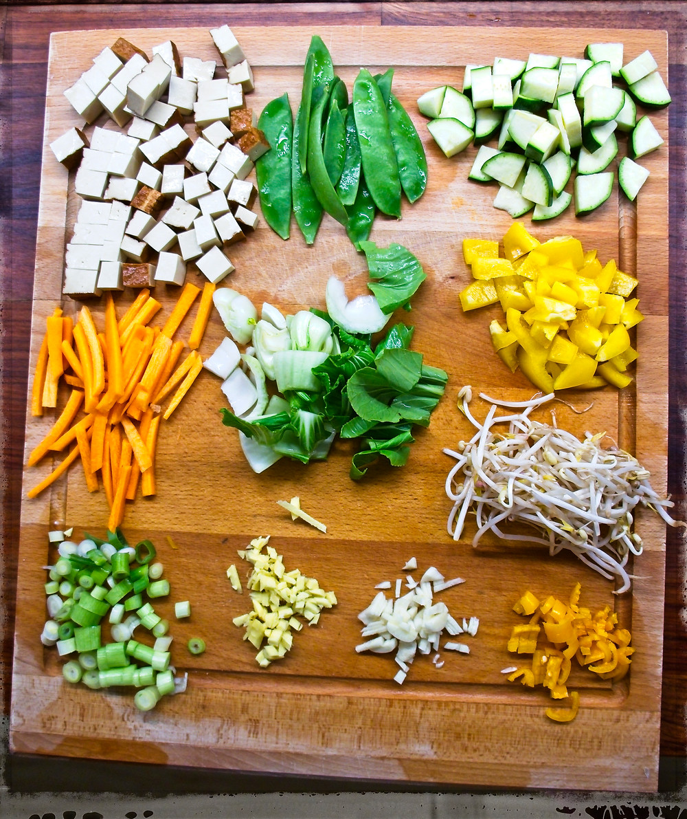 Chinese Stir-Fry - Mostly Beige - Recipes for Kids