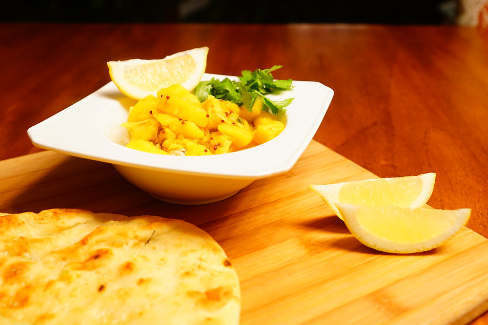 Aloo Gobhi - Mostly Beige Recipes for kids