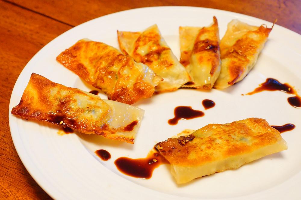 Mandu - Korean Dumplings - Mostly Beige - Recipes for Kids