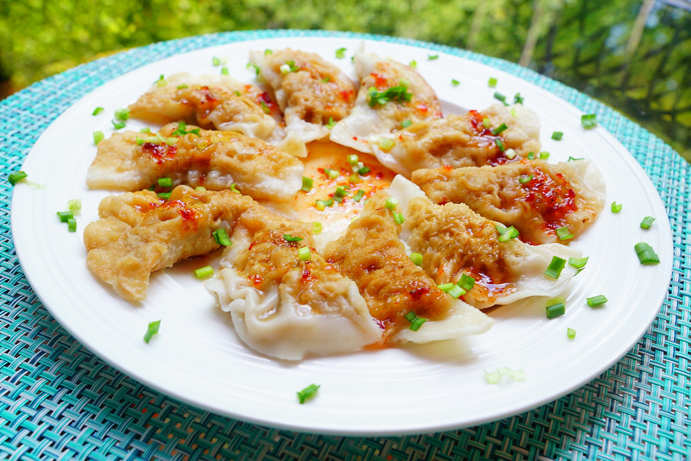 Zhong - Chinese Pork Dumplings - Mostly Beige - Recipes for picky eaters
