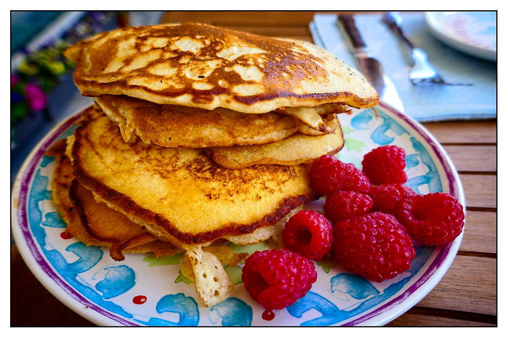 American Pancakes - Mostly Beige - Recipes for difficult eaters