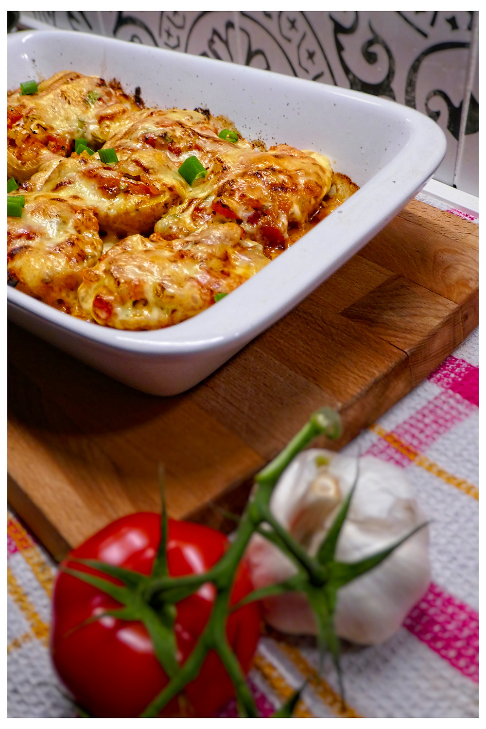 Lemon Pasta with Tomato Salsa - Mostly Beige - Recipes for picky eaters