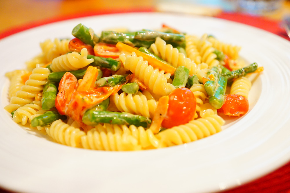 Pasta Primavera - Mostly beige recipes for kids and difficult eaters