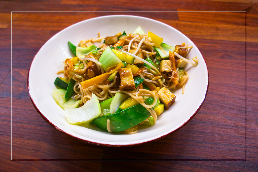 Chinese Stir-Fry - Mostly Beige - Recipe for Kids