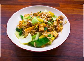 Chinese Stir-Fry with Smoked Tofu