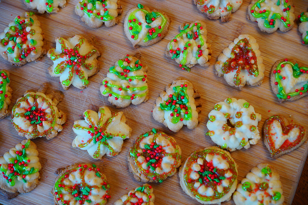 Christmas Cookies - Mostly beige recipes for kids
