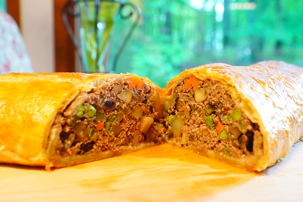 Ground Beef Wellington - Mostly Beige Recipes for Kids