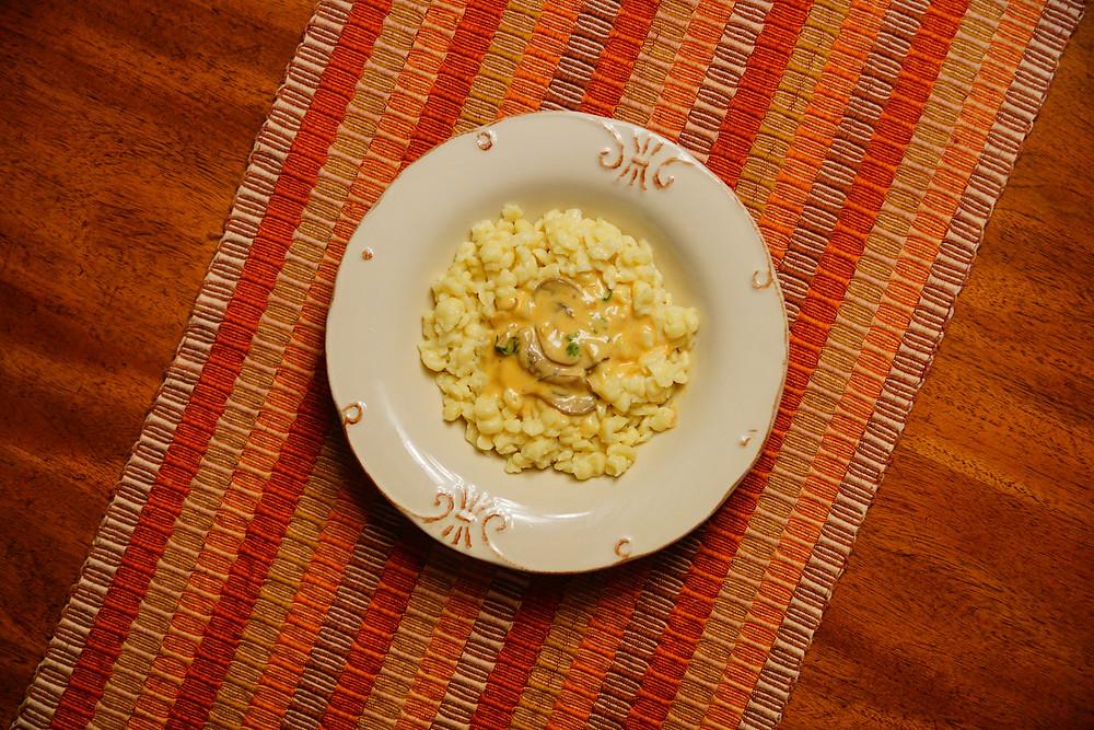 Mostly Beige - Recipes for kids. Spätzle
