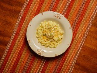 Spätzle in a Mushroom-Cream Sauce
