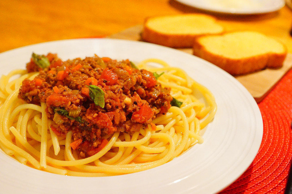 Spaghetti Bolognese Ragu alla bolognese Mostly beige recipes for kids