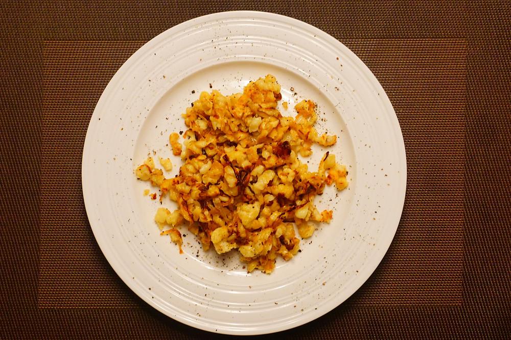Käsespätzle - Mostly Beige Recipes for kids