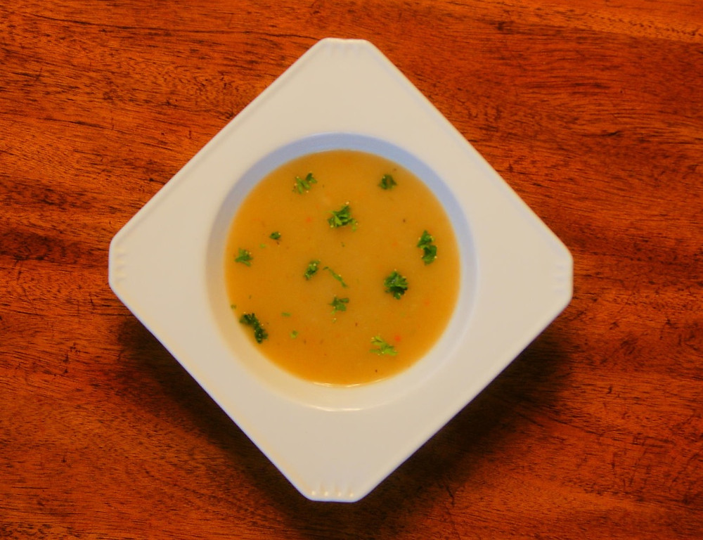 Creamy Potato Celery Root Soup Mostly Beige Recipe For Kids