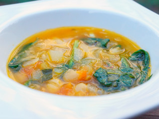 Super Quick Tuscan Bean Soup