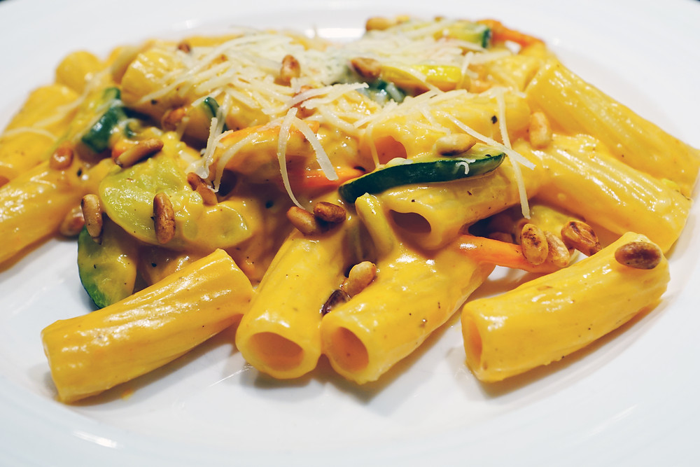 Pasta Primavera - Mostly Beige Recipes for difficult eaters
