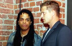 With Till Schweiger, 2005