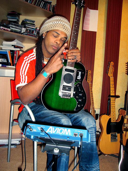 At Menheim studio, 2011. 04