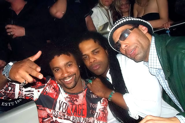 With Jamaican music legend Shaggy & the Andru's friend Vincent Rose