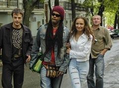 Andru Donalds & Eugenia Vlasova in Kiev, Ukraine, 2005 (4)
