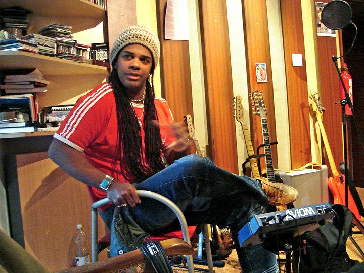 At Menheim studio, 2011. 01