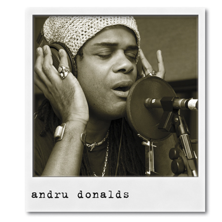 'AD07', 2007. Andru Donalds, Vocals
