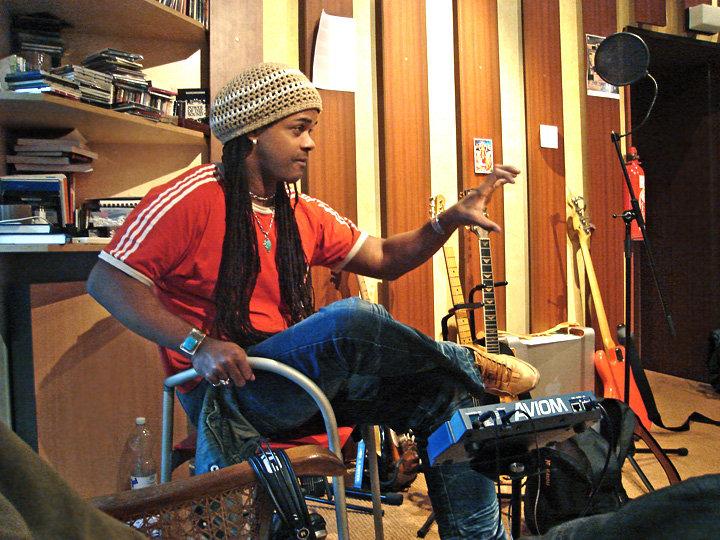 At Menheim studio, 2011. 03