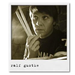 'AD07', 2007. Ralf Gustke, Drums