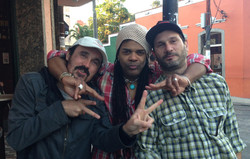 02 With Caio Junquiera & Andre Rebello hanging out in Lapa, Rio, 2014