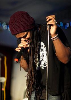 'The Smokin' Jacket', Carlos Cafe, Kingston, Jamaica (03.01.11) (6)
