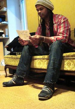 At Menheim studio, 2011. 07