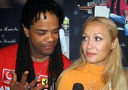 Andru Donalds & Eugenia Vlasova in Kiev, Ukraine, 2005 (1)