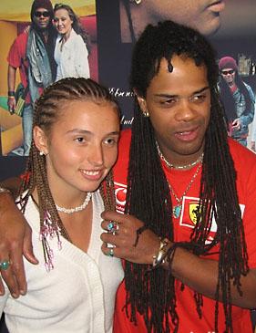 Andru Donalds & Eugenia Vlasova in Kiev, Ukraine, 2005 (2)