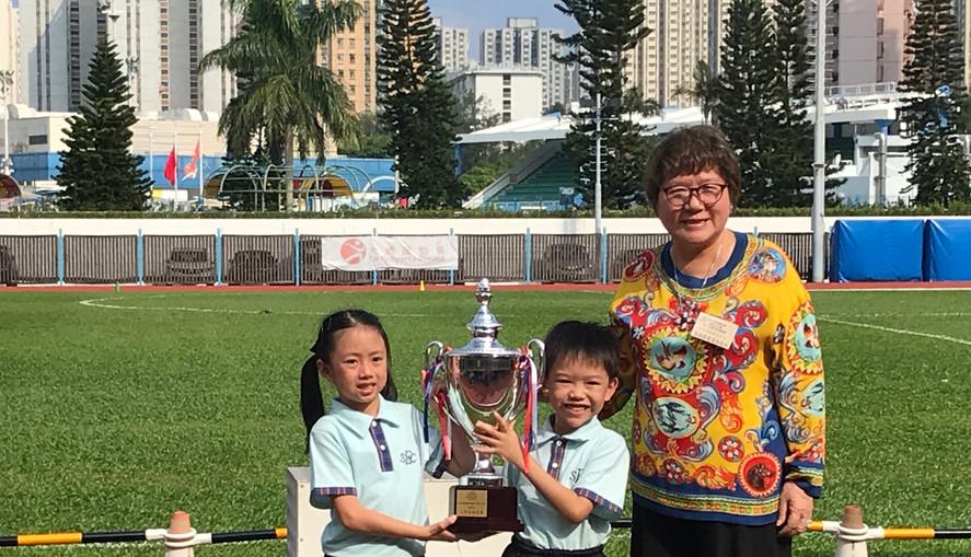 運動會:二年級親子遊戲日冠軍