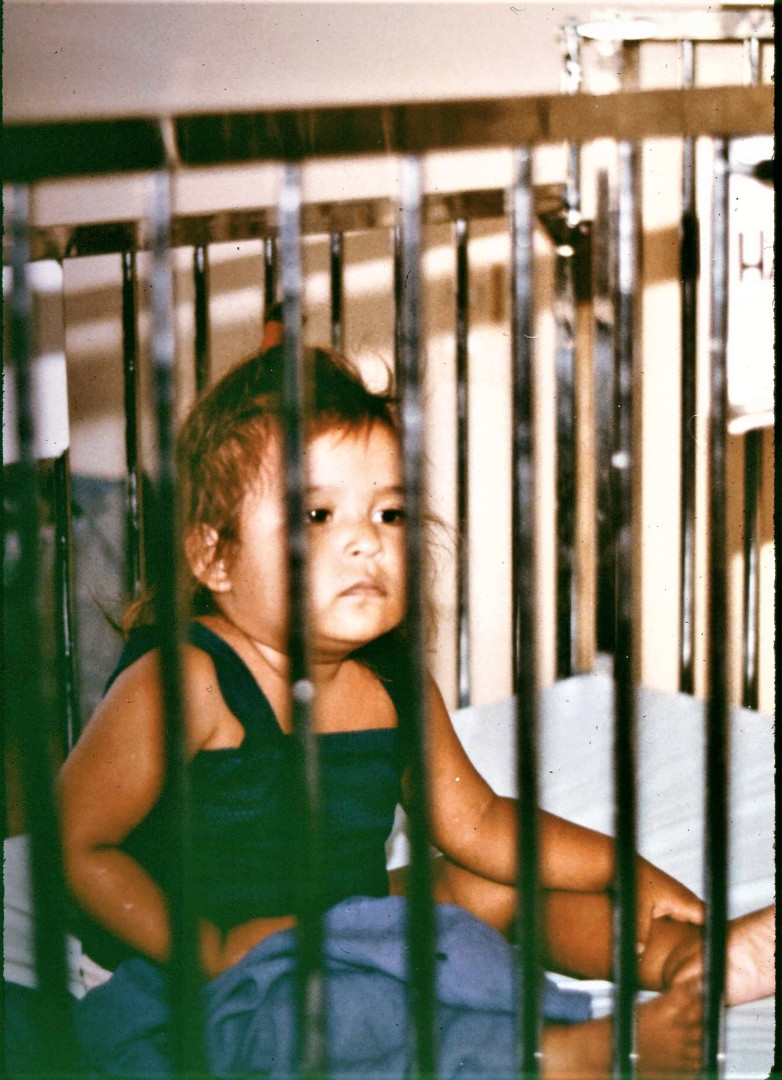 Babies in a hospital in Puerto Cortes, Honduras - 1998