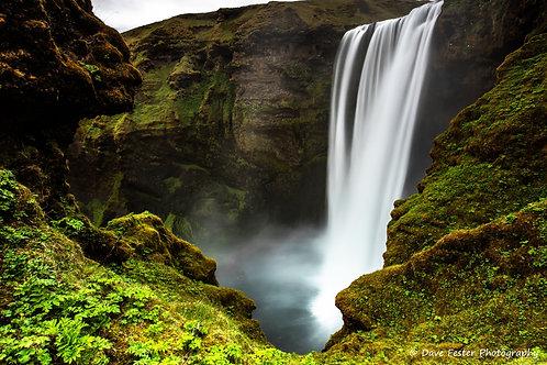 Skógafoss Falls (Ice-06)