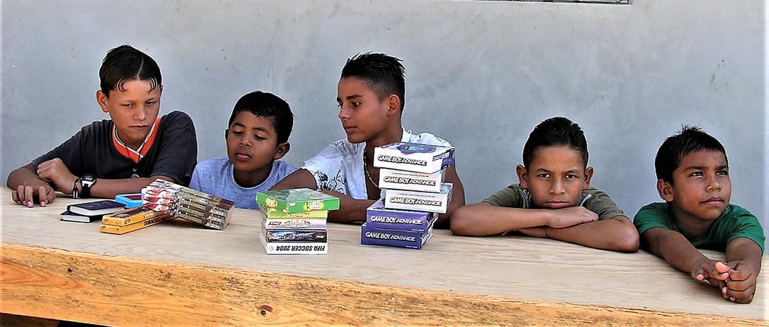 First boys living at the children's village in Tegucigalpita