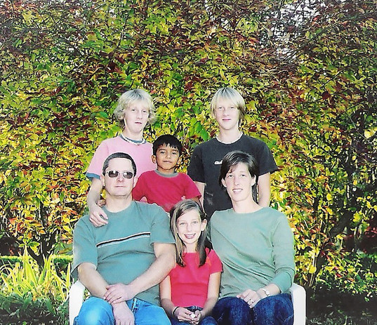 David Bardel and his family – also the Emmanuel Church