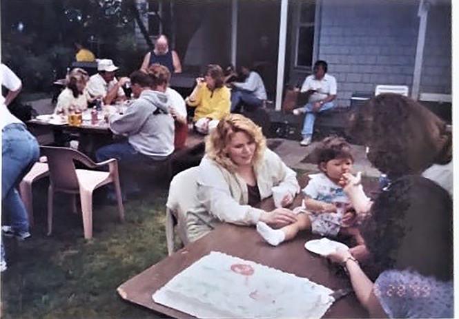 Sarah's first Birthday. June 30th, 1999