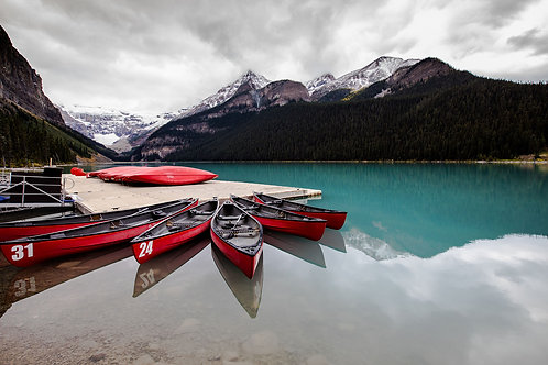 Reflections, Lake Louise, Banff National Park