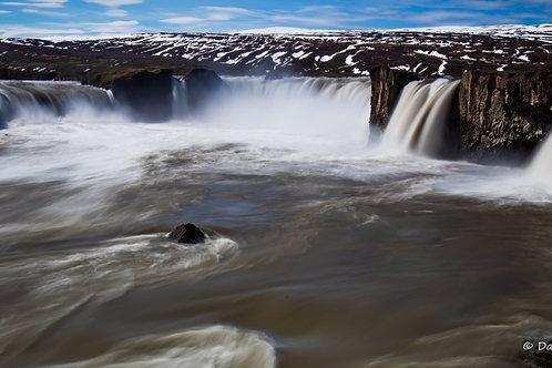 Goðafoss Falls #2 (Ice-15)