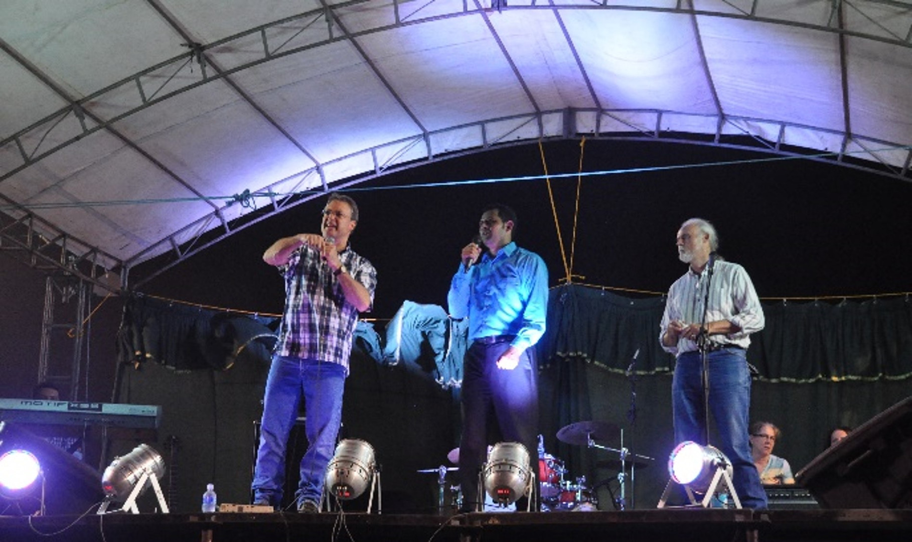 Bruce Van Natta, Oscar, and Bruce Carlson