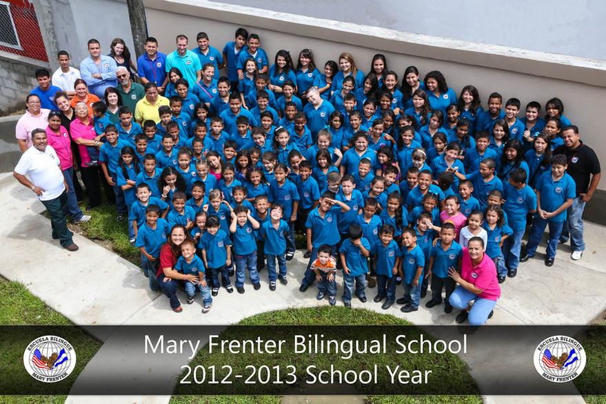 Mary Frenter Bilingual School - 2012-2013