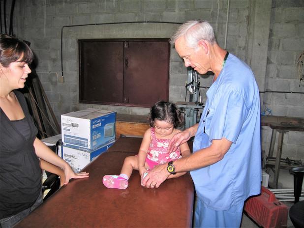 Alison, Araceli and Bob Tutland