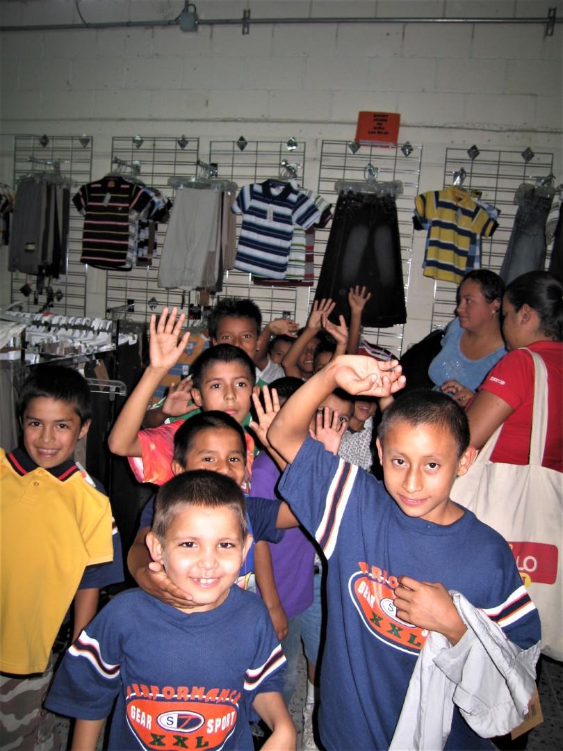 Christmas shopping 2009