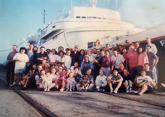 Members of the Spirit ship