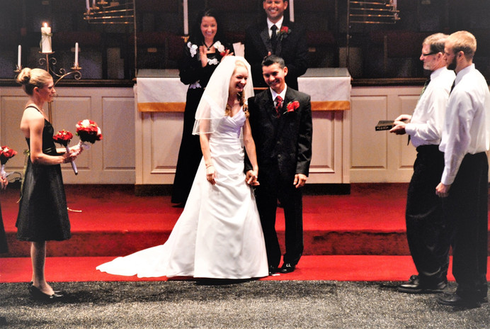 Marvin and Karen's wedding - Tennessee 2010