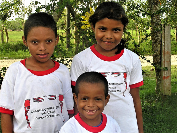 Marcos, Daniela, and Jehovanny